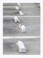 パーキングブロックイメージ画像