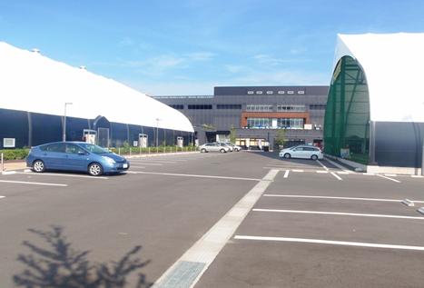 仙台市太白区現場 スポーツパーク駐車場