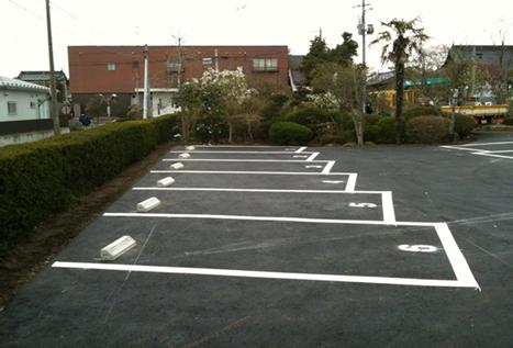 宮城県富谷郡現場 一般住宅駐車場